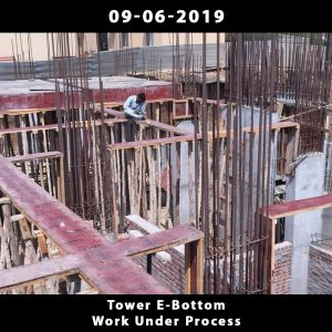 Tower E-Bottom Work Under Process