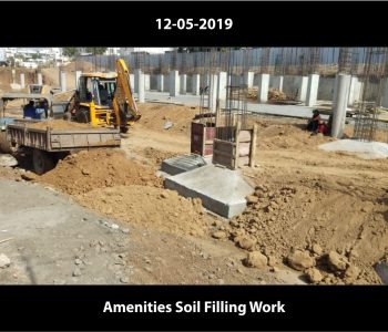 Amenities Soil Filling Work