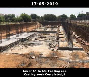 Tower A1 to A3-Footing and Casting Work Done_2