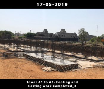 Tower A1 to A3-Footing and Casting Work Done_3