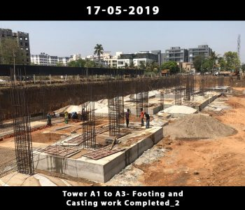 Tower A1 to A3-Footing and Casting Work Done_4
