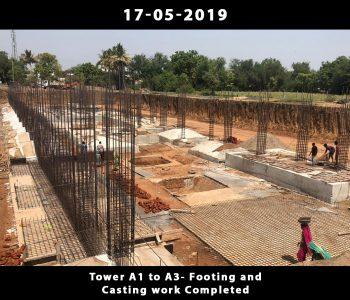 Tower A1 to A3-Footing and Casting Work Done_5