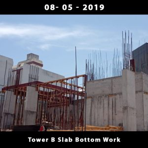 Tower B Slab Bottom Work