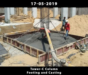 Tower C-Column Footing and Casting