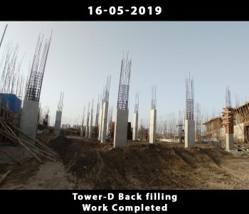 Tower D Back Filling Work Completed