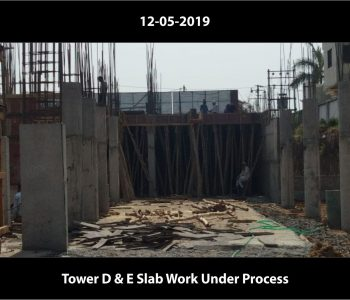Tower D & E Slab Work Under Process