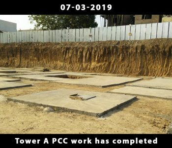Tower A PCC work has completed