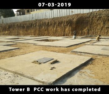 Tower B PCC work has completed